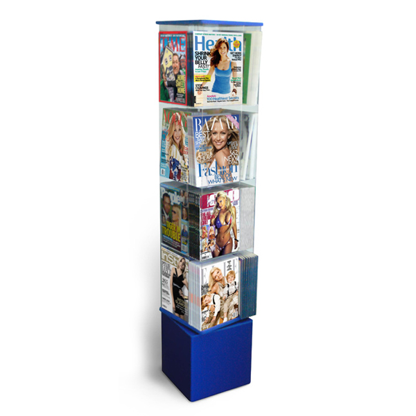 Acrylic Magazine Display Stand