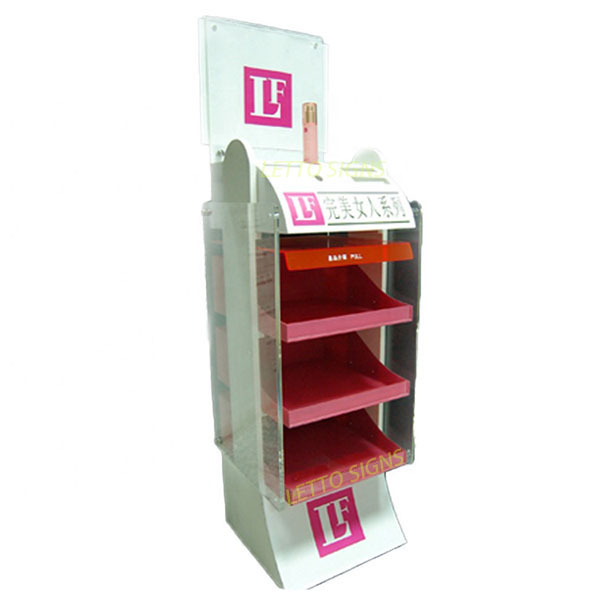 China Supplier Professional Cusmetic Custom Display Stand